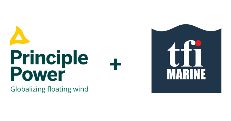 Principle Power partners with an innovative Irish company Technology From Ideas (TfI) to develop novel mooring solutions for transitional waters.